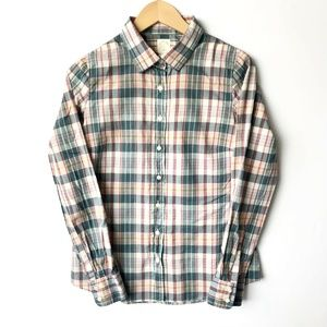 J.CREW The Perfect Shirt in Candy Plaid  Button Up